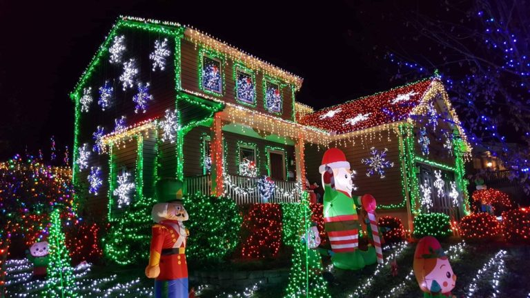 2021 Christmas Music Light Displays Fort Wayne Indiana